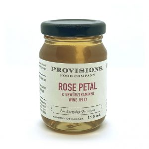 Rose Petal & Gewurztraminer Wine Jelly