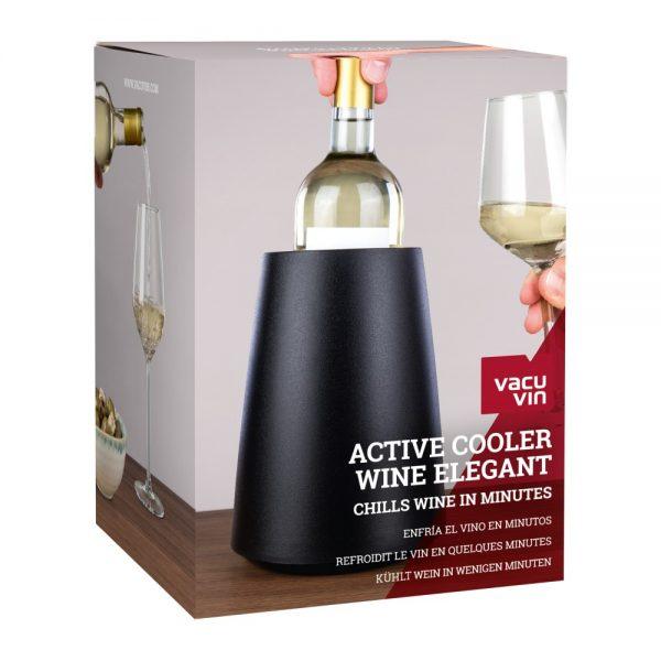 Vacu Vin Active Cooler Wine Elegant Black