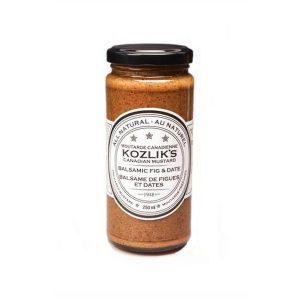 Kozlik's Balsamic Fig & Date Mustard